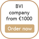 BVI company formation from 1000 euro