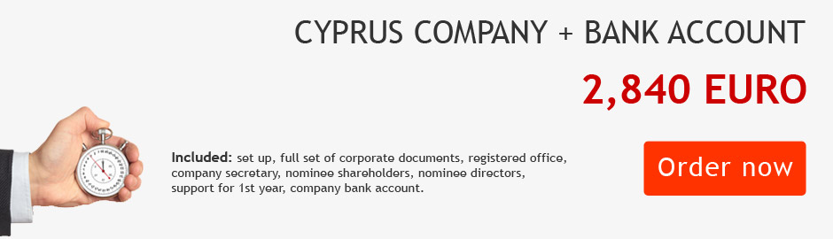 Cyprus Company registration + Bank account in 24 hours!